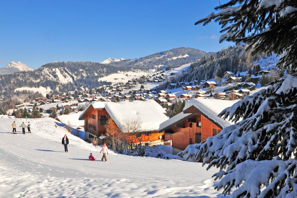 residence vacances neige la clusaz aravis