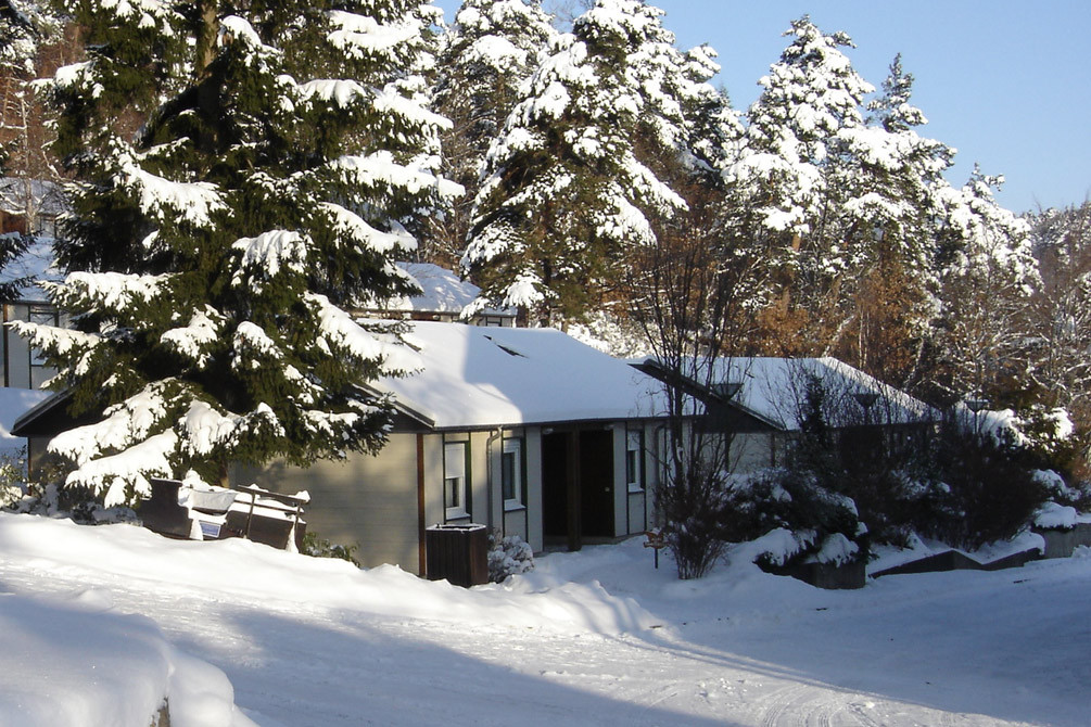 village vacances logement hiver murol
