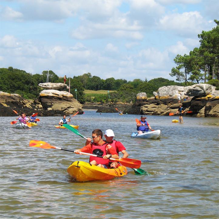 vacances sport tregunc kayak de mer
