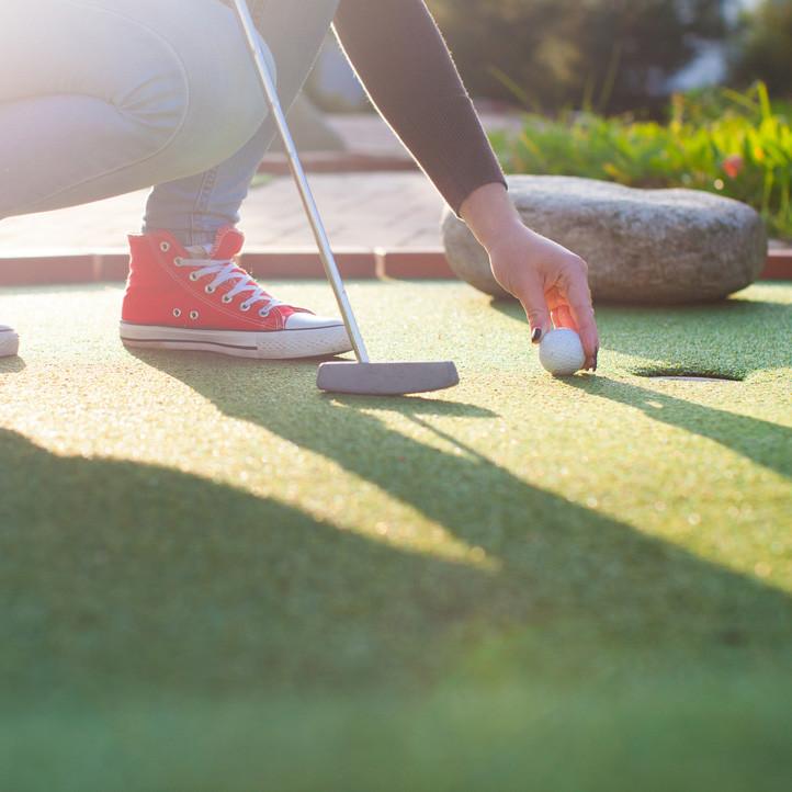 vacances sport tregunc mini golf